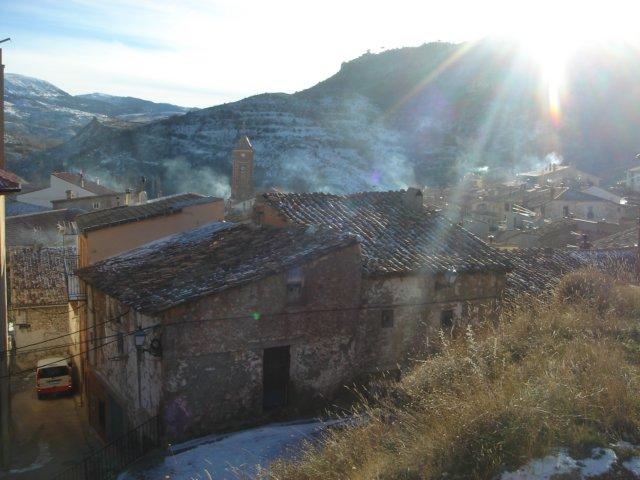 Atardecer Gelido - Camarena de la Sierra